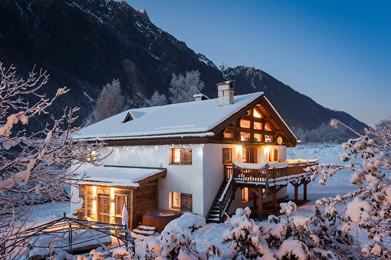 Luxury Catered Chalet Tissieres Chamonix