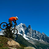 Mountain Bike in Chamonix